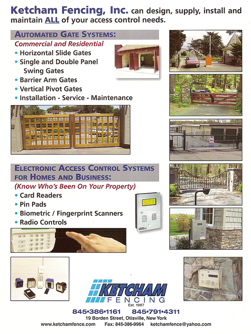 Access Control Electric Gates