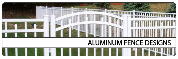 Aluminum Fence Designs