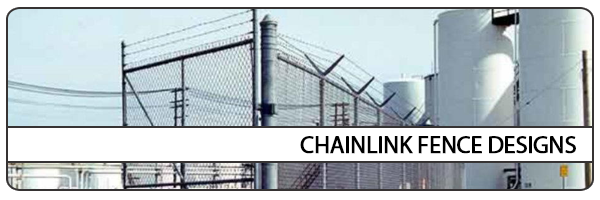 chainlink fence designs