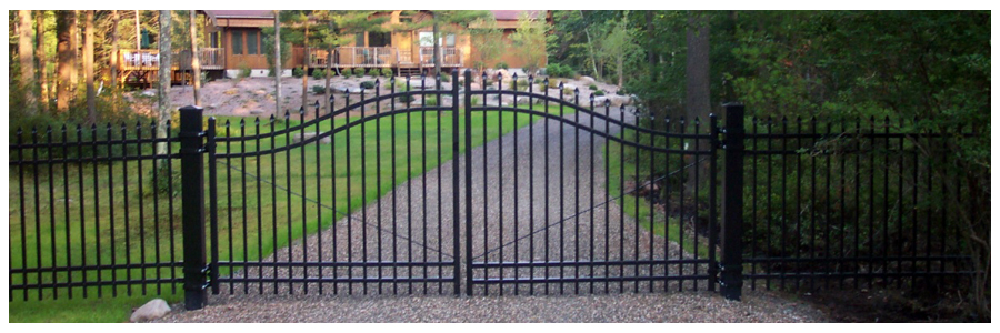 Estate Gates Offer Beauty and Security