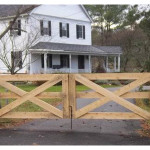 Custom Wooden Gate Ketcham Fenceketcham Fence