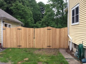 Scalloped Dog Eared Privacy Fence Ketcham Fenceketcham Fence