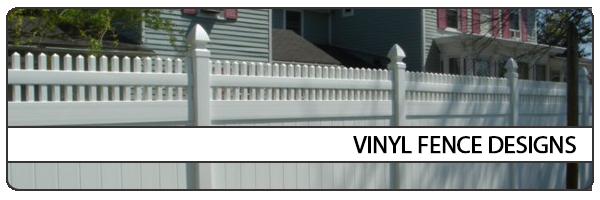 vinyl fence designs