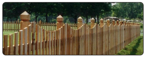 White Cedar Picket Fence Ketcham Fenceketcham Fence