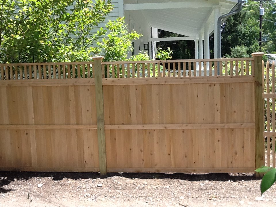 Wood Fences Ketcham Fenceketcham Fence